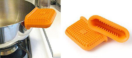 silicone pot holders, instead of mittens