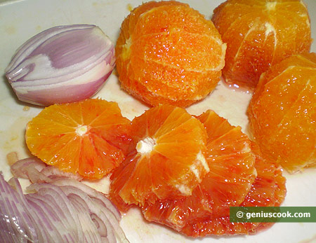 oranges and onion