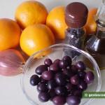 Ingredients for Sicilian Orange Salad