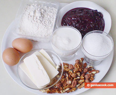 Ingredients for Crescent Rolls