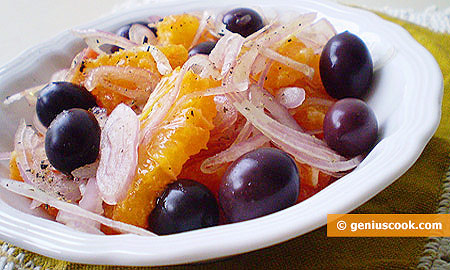 Sicilian Orange Salad with Onion