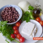 Ingredients for Warm Crete Salad