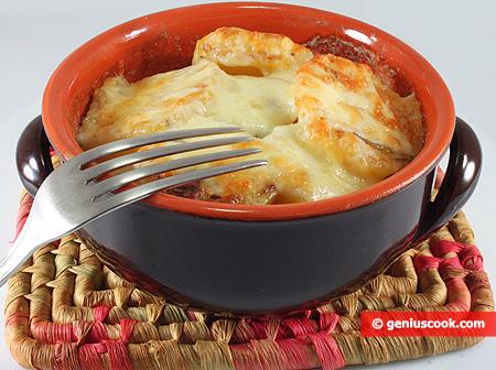 French Potato with Cream