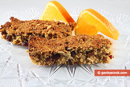 Granola Sticks with Pumpkin Seeds and Honey
