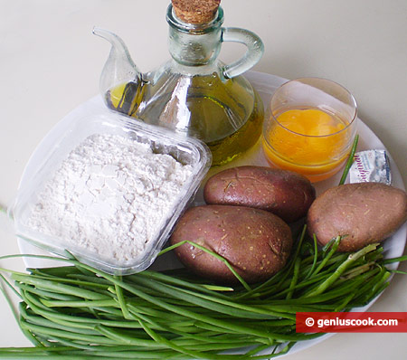 Ingredients for Potato Pies