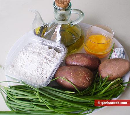 Ingredients for Potato Pies