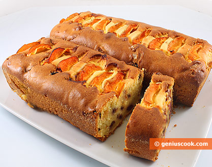Cream Cakes with Apricots and Cranberry