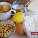 Ingredients for Filbertines Cookies