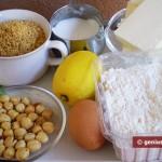 Ingredients for Filbertines Cookies