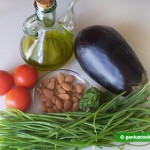 Ingredients for Eggplant Salad