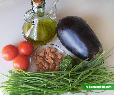 Ingredients for Eggplant Salad