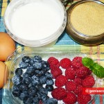 Ingredients for Berry Semifreddo