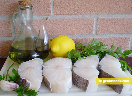 Ingredients for Cod Salad