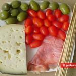 Ingredients for Snack on Skewers