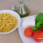 Ingrdients for Fusilli with Tomatoes and Ricotta