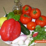 Ingredients for Gazpacho