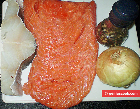 Ingredients for Fish Chops