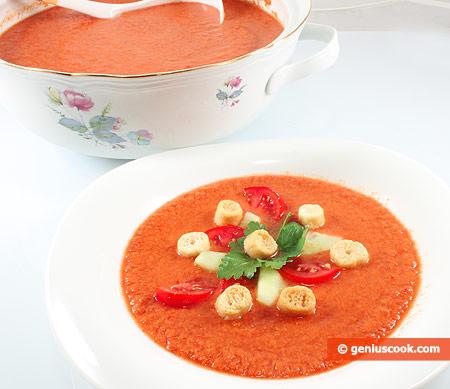 Gazpacho, Spanish Tomato Soup