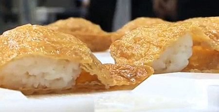 Inari Sushi by a Robot
