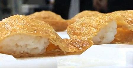 Inari Sushi by a Robot
