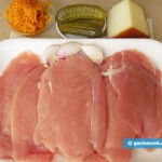 Ingredients for Rolls from Turkey Breast