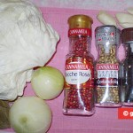 Ingredients for Marinated Cabbage