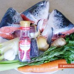 Ingredients for Fish Broth