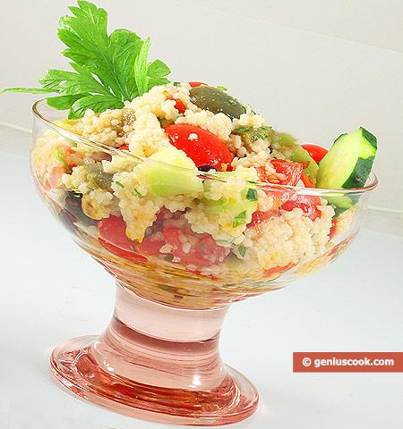 Oriental Couscous Salad