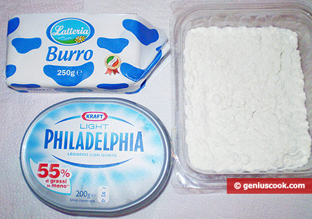 Ingredients for Puff Paste