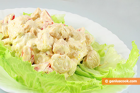 The Chicken Breast Salad
