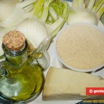 Ingredients for Fennel Au Gratin