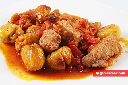 Stewed Pork with Chestnuts
