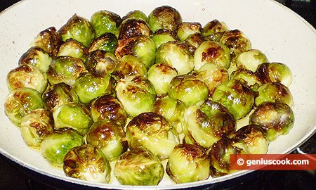 frying brussels sprouts