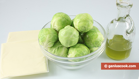 Ingredients for Brussels Sprouts with Cheese