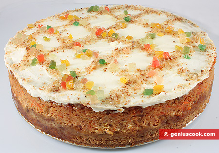 "Cake ""Pumpkin Pastiera"""