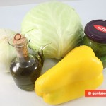 Ingredients for Stewed Cabbage