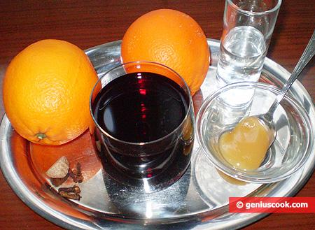 Ingredients for Orange Mulled Wine