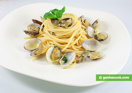 Spaghetti with Clam