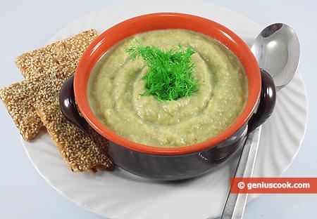 Cream of Cauliflower and Leek Soup
