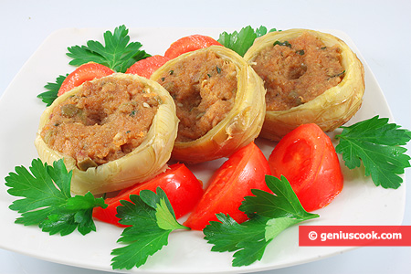 Artichokes Stuffed with Tuna And Olives