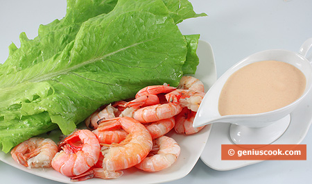 Ingredients for Prawn Cocktail Salad