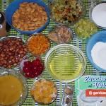 Ingredients for Panforte Margarita