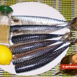 Ingredients for Steamed Spicy Mackerel