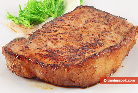 Fried Pork Steak
