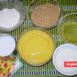 "Ingredients for Cake ""Lemon Mousse"""