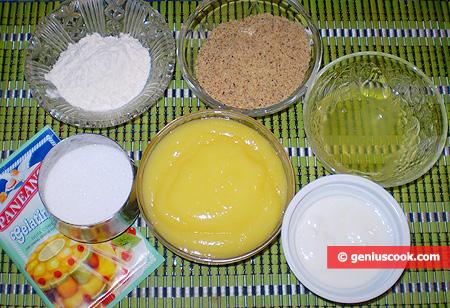 "Ingredients for Cake ""Lemon Mousse"""
