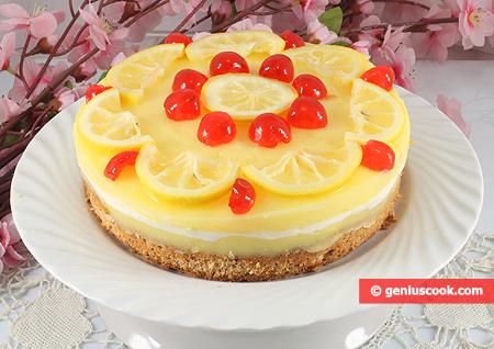 "Cake ""Lemon Mousse"""