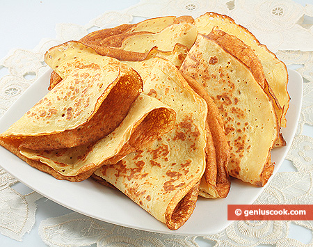 Pancakes from Chickpea Flour
