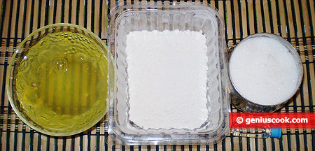 Ingredients for Angel Cake