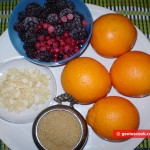 Ingredients for Orange-berry jelly